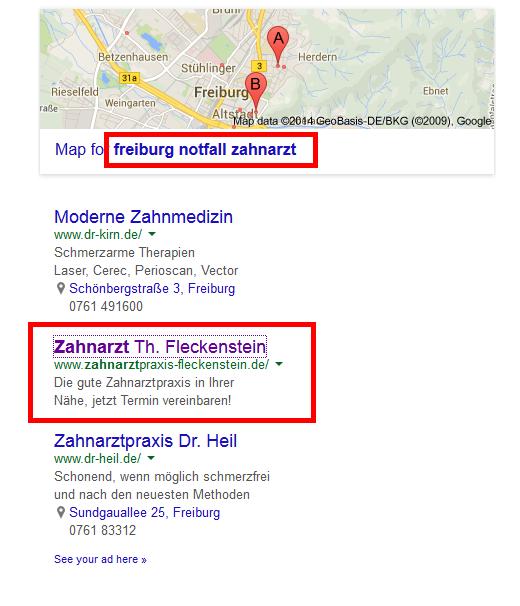freiburg notfall zahnarzt